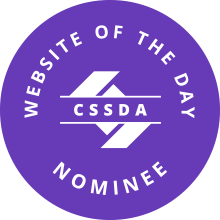 CSS Design Awards - Website Of The Day Award Nominee